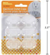 Home Essentials 6-pc Semi-Transparent Electrical Outlet Caps