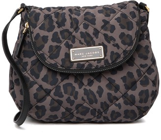 Marc Jacobs Quilted Nylon Print Messenger Bag