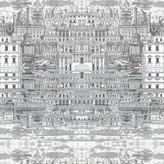 Fornasetti Riflesso Wallpaper - 77/14051