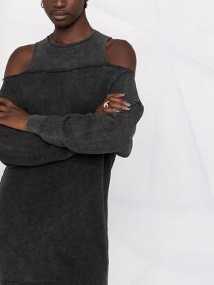 R 13 Cold-Shoulder Dress