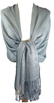 World of Shawls Wedding Party Occasion Shawl Scarf Wrap Hijab (Turquoise)