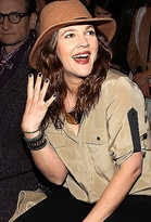 CC Skye Chunky Madison Cuff in Black and Rose Gold as Seen On Drew Barrymore