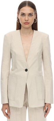 Isabel Marant LINK COTTON CANVAS JACKET