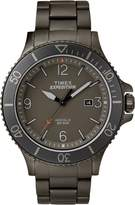 Timex Men's Casual Expedition Ranger TW4B10800GP Gray Dial and Gunmetal Stainless Steel Bracelet Watch