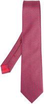 Brioni linear shape tie - men - Silk - One Size
