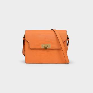 Marge Sherwood Vintage Brick Bag In Green Leather