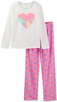 Jessica Simpson Long Sleeve Top & Bottom Pajama Set (Big Girls)