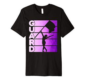 Color Guard T-Shirt Marching Band Flag Girl Premium T-Shirt