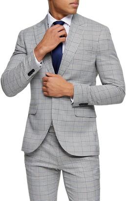 Topman Luther Skinny Fit Suit Blazer