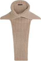 Agnona Ribbed cashmere collar