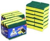 MR. SIGA Heavy Duty Scrub Sponge, 24 Count, Size:11 x 7 x 3cm