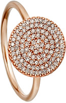Astley Clarke Icon rose-gold and diamond ring