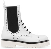Dolce & Gabbana Leather Boots - White