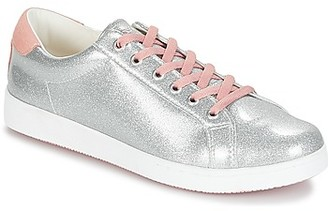 Mellow Yellow DAZELY women's Shoes (Trainers) in Silver