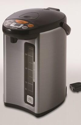 Zojirushi Micom Water Boiler & Warmer - Silver/Dark Brown