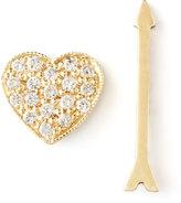Chicco Zoe Diamond Heart & Arrow Earrings