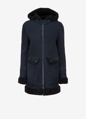 Bally Shearling Parka Jacket
