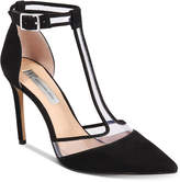INC International Concepts Kaeley T-Strap Pumps, Created for Macy's