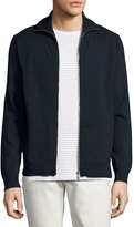 Theory Kampers SFZ Neofil Front-Zip Jacket, Navy