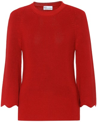 RED Valentino Cotton sweater