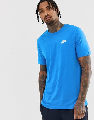 Nike Club t-shirt in blue
