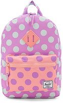 Herschel Heritage Kids Backpack in Lavender.