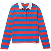 Kule The Rugby Top in Royal/Poppy