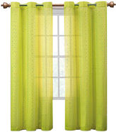 VCNY Abbey Sequence Grommet-Top Sheer Curtain Panel