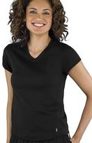 Jockey Womens Mesh V-Neck Tee Activewear V-Neck T-Shirts polyester