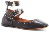Givenchy Women's Studded Ankle Strap Flat