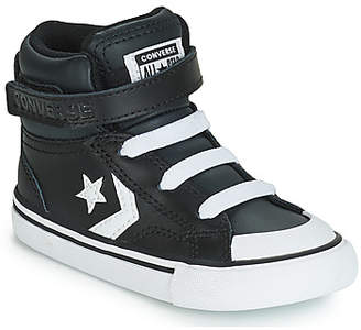 Converse PRO BLAZE STRAP LEATHER HI girls's Shoes (High-top Trainers) in Black