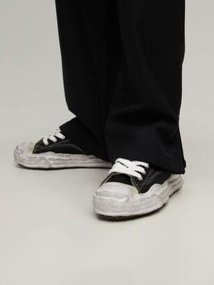 Miharayasuhiro Original Sole Hank Low Distress Sneakers