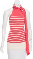 Jean Paul Gaultier Striped Sleeveless Top