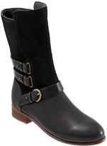 SoftWalk Softwalks Leather Block Heel Moto Boots - Rae