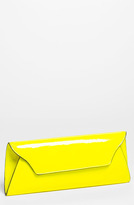 'Riley' Faux Leather Envelope Clutch