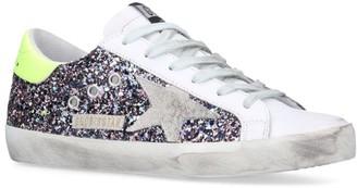 Golden Goose Glitter Superstar V58 Sneakers