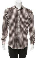 Glanshirt Plaid Button-Up Shirt