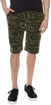2xist Terry Camouflage Lounge Sweat Shorts