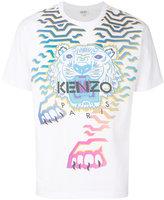 Kenzo rainbow Geo Tiger T-shirt