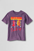 Lands' End Toddler Boys' Short Sleeve Catch Up Graphic T-shirt