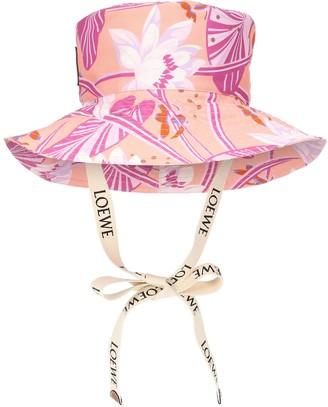 Loewe Paulas Ibiza printed bucket hat