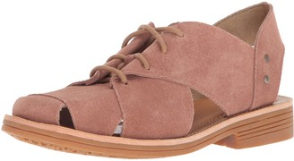 Caterpillar Women's Maren Unconstructed Leather lace up Shoe with Cutouts Oxford