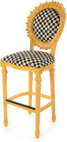 Mackenzie Childs MacKenzie-Childs Sunflower Yellow Outdoor Barstool