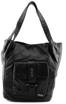 Roxy Fork In The Bay Tote Women Synthetic Brown Shoulder Bag.