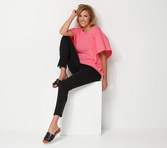 Belle By Kim Gravel Regular Flexibelle Zip Ankle Jeans