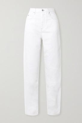 Etoile Isabel Marant Corsy High-rise Jeans - White