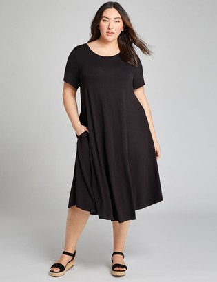Lane Bryant High-Low Swing Dress