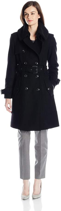 London Fog Women's Heritage Double Breasted Trench Coat