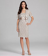 R & M Richards Lace Jacket Dress