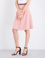 RED Valentino Gonna high-rise woven skirt